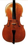 for playing modern music, especially Shostakovich, Ivashkin loves the bold, strong sound of his Stradivari copy, made by Bruce Carlson in I993
