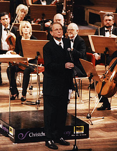 Opening ceremony of the 5th Adam International Cello Festival, July 2003