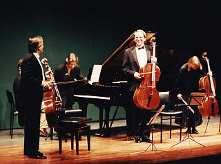 Concert with David Geringas, Tatyana Geringas and Natalia Pavlutskaya